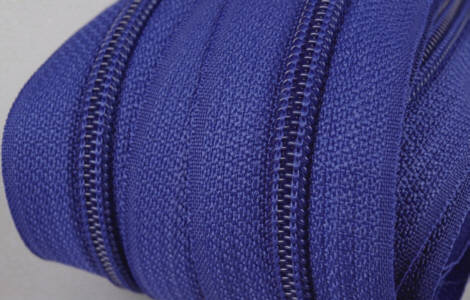 Endlos-Reissverschluss royal-blau 3mm