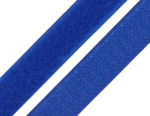 1 Meter Klettverschlussband 2cm breit, Klettband marine