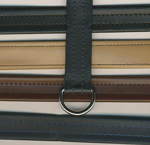 Taschenriemen mit Verstellschn. 100cm mittel-braun