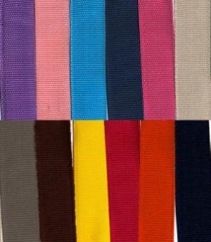 Rest / Restetüte 10 Meter Gurtband / 3 cm breit  Polypropylen