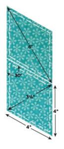 Accu Quilt - Accuquilt Stanzform Diamonds 4 x 4 inch