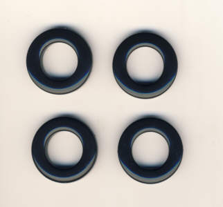 Taschenringe, Taschenösen 20 mm schwarz