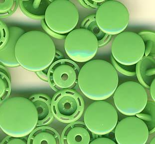 Snaps T5 Druckknöpfe B14 Grün 25 Sets