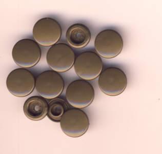 Snaps T5 Druckknöpfe B12 Altgold 25 Sets