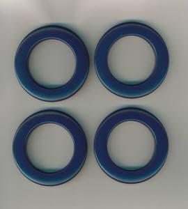 Taschenringe, Taschenösen dunkel-blau 35 mm