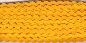 Zackenlitze 9mm Gelb