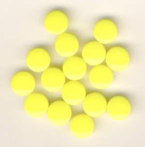 Snaps T5 Druckknöpfe B7 Zitronengelb 25 Sets
