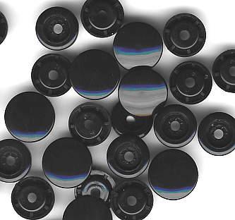 Snaps T5 Druckknöpfe B5 Schwarz 25 Sets