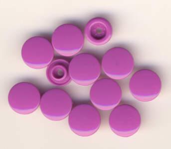Snaps T5 Druckknöpfe B56 Violett 25 Sets