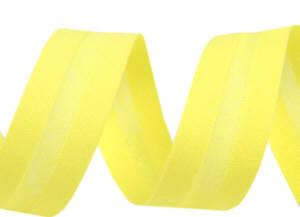 Schrägband neon gelb uni 20 mm 100% Baumwolle