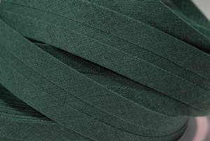 Schrägband farbig uni 20 mm100% BW khaki