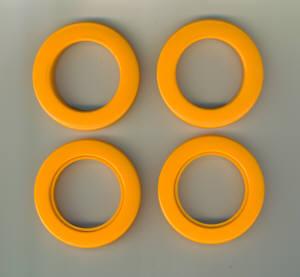 Taschenringe extra Stark 35,5 mm mandarin