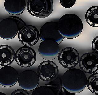 Snaps T8 Druckknöpfe B5 Schwarz 25 Sets