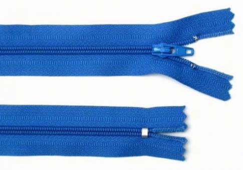 Reißverschluss dunkel-blau, 3mm, 60cm