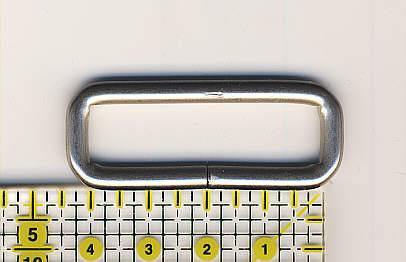 Ring oval 40mm Nickel matt - Vintage Design