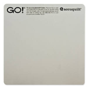 AccuQuilt cutting mat 6x6 Inch