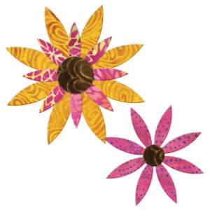 Accuquilt Stanzform Daisy, Gänseblümchen