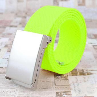 Canvas Gürtel Neon-grün