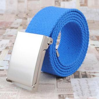 Canvas Gürtel für Sie in Royal-Blau