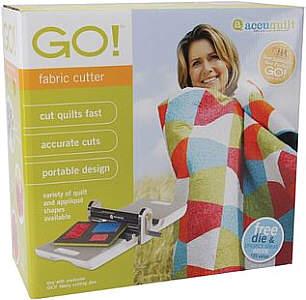 AccuQuilt GO Fabric Cutter Schneidemaschine