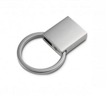 Bandklemme Nickel matt Key-Fob 18 mm / 1,8 cm als Schlüsselbandrohling