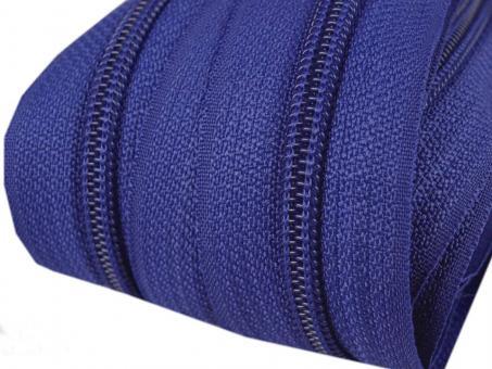 5m Endlos-Reißverschluss royalblau, 5mm incl. 10 Zipper
