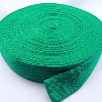 25 Meter Rolle Gurtband 3 cm / 30mm breit smaragd-grün