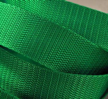 4 Meter Gurtband 4 cm breit smaragd-grün