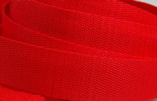 4 Meter Gurtband 3 cm / 30mm breit rot
