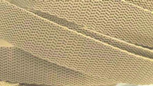 4 Meter Gurtband 3 cm/ 30mm breit Sand