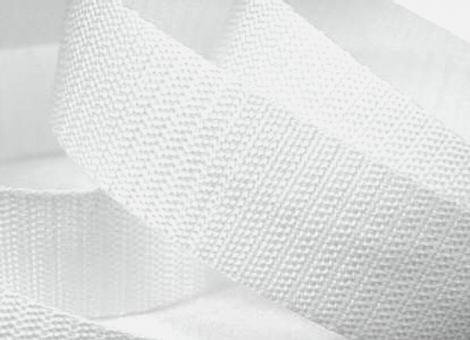 4 Meter Gurtband 3 cm / 30 mm breit weiß