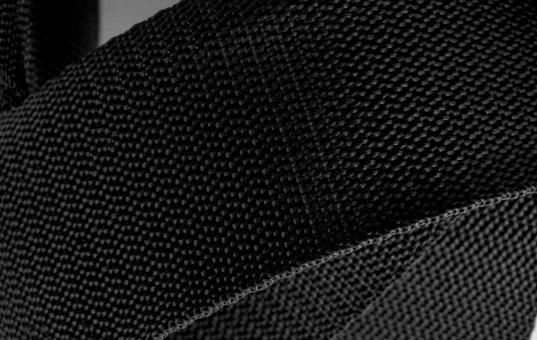 Gurtband 4 cm schwarz Polypropylen 4 Meter Stück