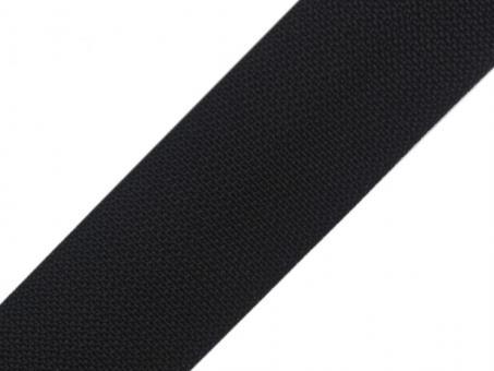 4 Meter Gurtband 5 cm breit schwarz Polypropylen