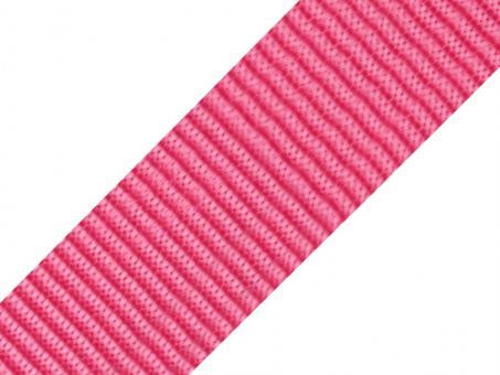 4 Meter Gurtband pink 5cm / 50mm breit aus Polypropylen
