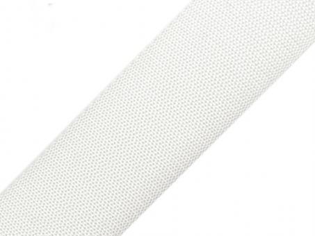 4 Meter Gurtband weiss 5cm / 50mm breit