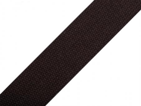 4 Meter schwarzes Gurtband Baumwolle 3 cm / 30mm breit