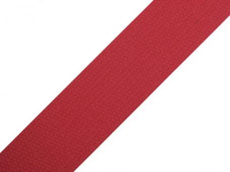 4 Meter Gurtband Baumwolle rot 3 cm / 30 mm breit