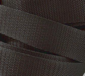 4 Meter Gurtband 3 cm / 30mm breit dunkel-grau