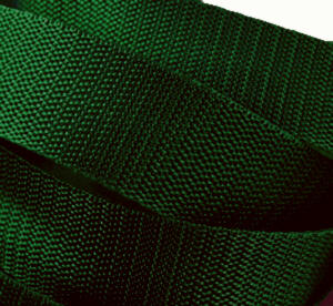 4 Meter Gurtband 3 cm / 30mm breit dunkel-grün