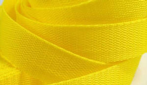 4 Meter Gurtband 3 cm / 30mm breit gelb