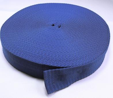 25 Meter Rolle Gurtband 3 cm / 30mm breit royalblau