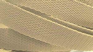 4 Meter Gurtband 4 cm/ 40 mm breit Sand