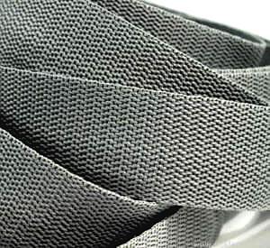 4 Meter Gurtband 3 cm / 30mm grau