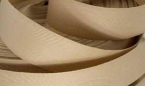 Köperband - Posamente beige Breite 25mm