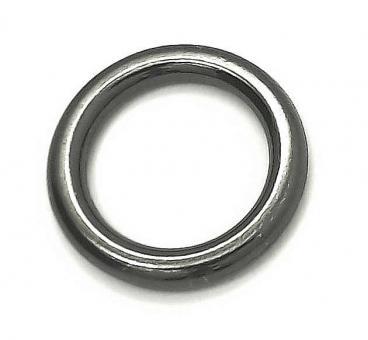 Metallring Schwarz-Nickel glänzend 20 mm