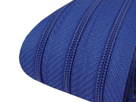 3m Endlos-Reißverschluss royalblau 3mm incl. 10 Zipper