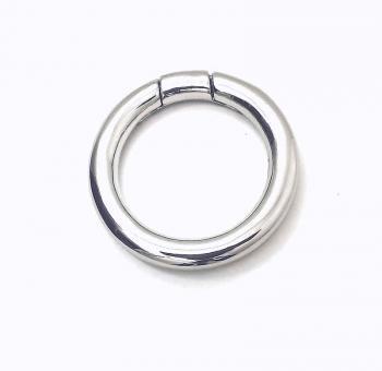 Reparaturring / Rundring Nickel glänzend 30 mm