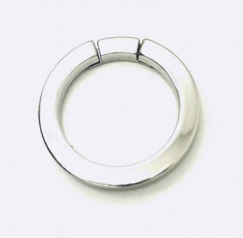 Reparaturring / Rundring Nickel glänzend 30 mm quadratischer Querschnitt