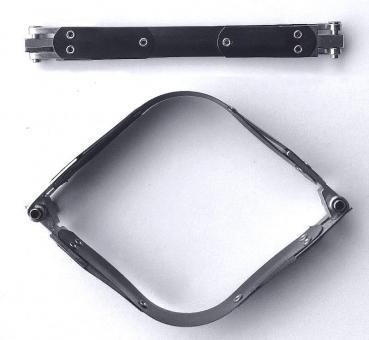 Schnappverschluss 15 cm / Federverschluss für Taschen / Beutel