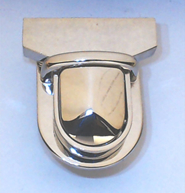 steckschloss f r taschen 44 mm nickel gl nzend kaufen im. Black Bedroom Furniture Sets. Home Design Ideas